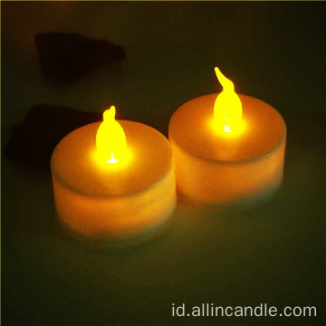 flameless led candle mengubah warna lampu led